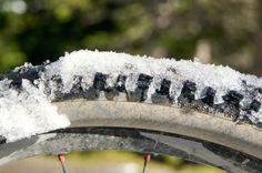 Biken als Wintersport #Fahrad #Velo #Winter #Schnee #Bike