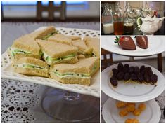 jane austen party ideas | We had loads of delicious fingers foods to go with our tea