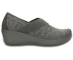 d19cca0a4 from crocs.com · Women s Busy Day Heathered Asymmetrical Wedge - Side