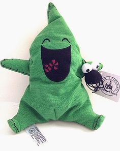 Goth Shopaholic: Get Ready to Squeal at These Adorable Nightmare Before Christmas Toys for Toddlers - Oogie Boogie Itty Bitty