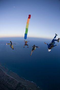 Skydive Itaparica - Brazil  Itaparica Island Camp lll by Rick Neves, via Flickr