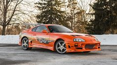 1993 Toyota Supra Fast and Furious Stunt Car presented as lot S157 at Indianapolis, IN 2015 - image1