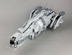 Lego Spaceship, Lego Robot, Spaceship Design, Spaceship Concept, Lego Machines, Lego Ship, Lego Mechs, Cool Lego Creations, Lego Design