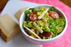 Chopped Italian Salad with Oregano Vinaigrette