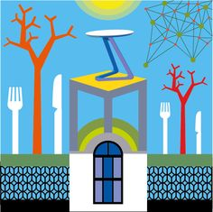 suzanne carpenter (illustrator_eye) on Twitter #Clerkenwell Design Week - do you have an appetite for #design