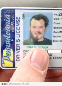 This is a nice Drivers License picture.