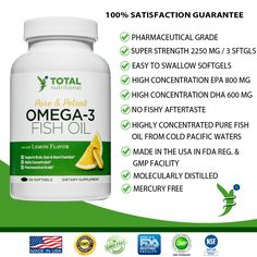 Omega 3 Fish Oil, Nutrition, Pure Products, Easy, Food, Essen, Meals, Yemek, Eten