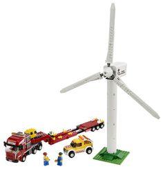 LEGO City Limited Edition Set #7747 Wind Turbine Transport: Toys & Games