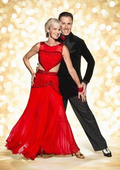 Judy Murray and Anton du Beke, strictly come dancing 2014 official photo