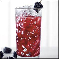 BLACKBERRY SWEET TEA 3 Cups Fresh Blackberries (or frozen, thawed) 1 1/4 Cups Sugar 1 Tbsp. Fresh Mint (chopped) Pinch Baking Soda 4 Cups Boiling Water 2 Family-size Tea Bags 2 1/2 Cups Cold Water Garnish: Fresh Blackberries http://www.themerchandiser.com/cooking-corner