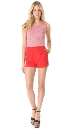 oooo cute alice + olivia Romper, perfect for spring/summer :)