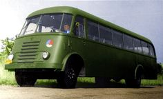 Alle Größen | 1952 DAF 7-streper bus van de KLU | Flickr - Fotosharing!