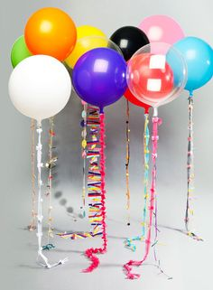 party Balloons Decoration #balloons, #parties, https://facebook.com/apps/application.php?id=106186096099420