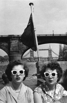 London, 1950s, photographer Ernst Haas