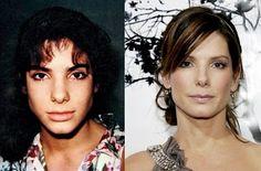 Sandra Bullock before and after plastic surgery www.beautywingman.com http://www.celebrityplasticsurgery.tv/category/celebrities/sandra-bullock