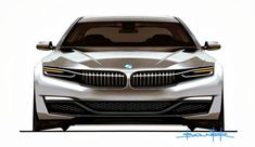 BMW sketch 5 series touring ?
