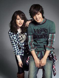 Yoon Eun Hye + Kim Hyun Joong for Basic House f/w