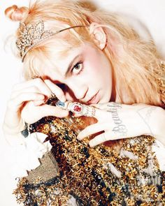 Grimes for W Korea Magazine photo: Mok Jung Wook styling: Eunice Jera Lee
