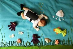 Underwater Scene Scuba Diving Baby Blanket | DiveBuddy.com
