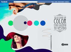 Propuesta gráfica para la nueva tienda online de Stradivarious