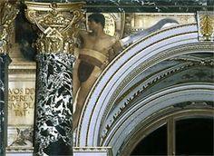 Gustav Klimt Oil Painting on Stucco Base – Early Works / Florentinisches Quattrocento 1890 / Klimt Gallery | Klimt Museum | Klimt Museum