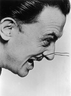 SALVADOR DALI.......1954......PHOTO BY PHILIPPE HALSMAN................ON MAGNUM PHOTOS.....