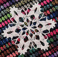 Ravelry: Mount Bierstadt Snowflake pattern by Deborah Atkinson