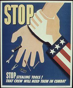 WW2 US poster