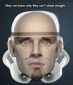 """the truth behind """"Storm Trooper Effect""""."""
