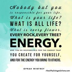 use your energy