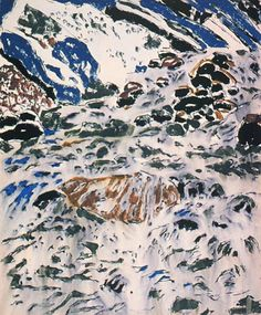 Water Forms by David Milne 1916 - Canadian Paintings Old Paintings, Paintings I Love, Abstract Paintings, Abstract Art, Canadian Painters, Canadian Artists, Watercolor Artists, Watercolor Techniques, Landscape Art