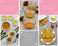 What to do with egg yolks? - Amandine Cooking - The question of the use of egg yolks often arises. After making macaroons, marshmallows or financie - Baby Food Recipes, Pasta Recipes, Dessert Recipes, Pancake Recipes, Chorizo, Tiramisu, How To Make Macaroons, Marshmallows, Parmesan Crisps
