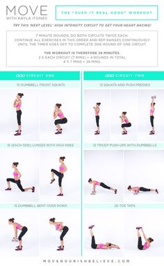 Try this! A High Intensity Circuit with Kayla Itsines @Lorna Riojas Jane @Harriet Adkins Approach #lornajanespringclean