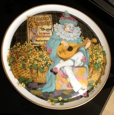 Royal Doulton / Wall Plaque - Behind The Painted Masque - Ben Black Ltd Edition