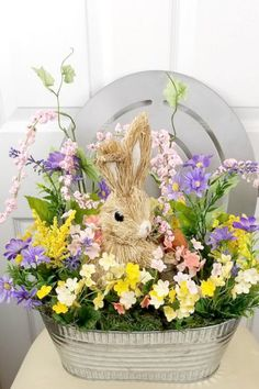 Welcome to the showcase of beautiful wreaths and centerpieces! These stunning creations were made by designers in the Trendy Tree Marketing Group. Easter Tree Decorations, Easter Wreaths, Holiday Wreaths, Holiday Decorations, Yarn Wreaths, Easter Centerpiece, Floral Wreaths, Spring Wreaths, Easter Decor