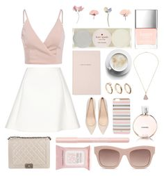 """""""Spring"""" by mailasapo ❤ liked on Polyvore featuring Neil Barrett, Zara, Kate Spade, ASOS, Chanel, Butter London, Bourjois, Topshop and STELLA McCARTNEY"""