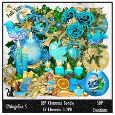 SBP Creations: CU Merry Christmas Bundle