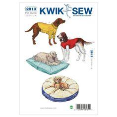Kwik Sew Sewing Pattern K2813 Pet Dog Cushions & Coats Sewing Pattern Cat Pillow | eBay