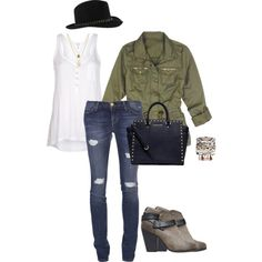 """friday style"" by roxcherie on Polyvore"
