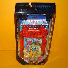 2000 MATTEL MOTU HE-MAN COMMEMORATIVE SERIES EVIL-LYN FIGURE MOC CARDED LTD ED | Juguetes, Figuras de acción, TV, cine y videojuegos | eBay!