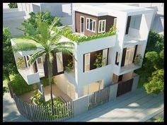 Thiết kế mẫu nhà biệt thự đẹp