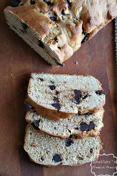 Chocolate Chip Peanut Butter Bread - Heather's French Press