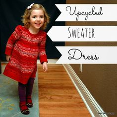 Beth Being Crafty: Upcycled Sweater Dress
