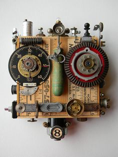 """Salvage Bot"" -Art Assemblage piece 
