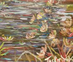 """Impressionism by Impressionist FineArtist TuckerDemps. Original oil on paper, 11 X 14. """" Gardens """" Series"""