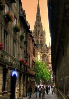 rouen cathedral, rouen France | Tumblr