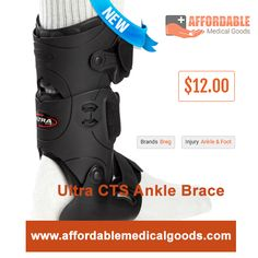 Best ankle & foot Ultra CTS ankle brace by breg. Click http://bit.ly/24lYAQF to know features of this product.
