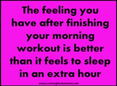Tips for waking up early & working out