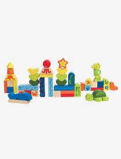 Jogo de peças tema marinho, Hape - Multicolor - 1