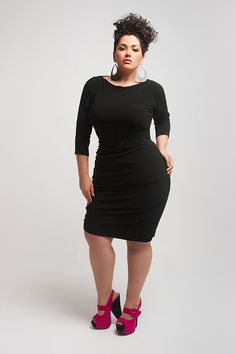 QFD - Yours Truly - Qristyl Frazier Designs - High Fashion Plus Size Clothing